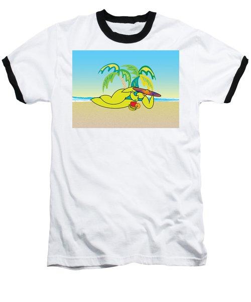 Samantha Baseball T-Shirt by Steve Ellis