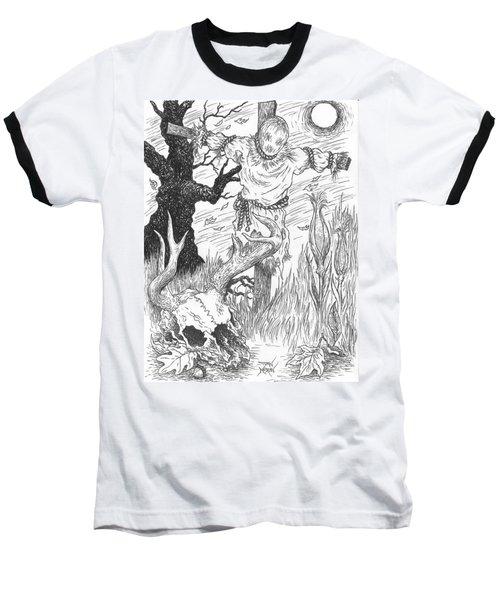 Samhain Baseball T-Shirt