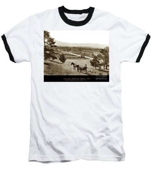 Samuel J. Duckworth Pauses To Look Upon What Would Become Carmel 1890 Baseball T-Shirt