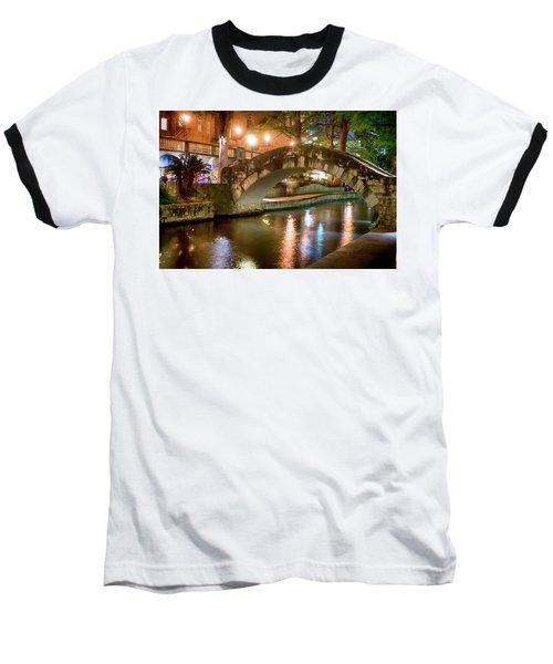 San Antonio River Walk V1 Baseball T-Shirt
