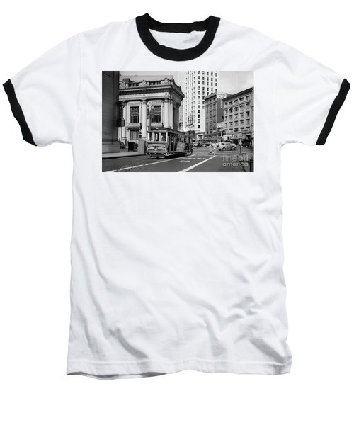 San Francisco Cable Car During Wwii Baseball T-Shirt