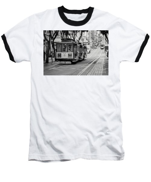 San Francisco Cable Cars Baseball T-Shirt