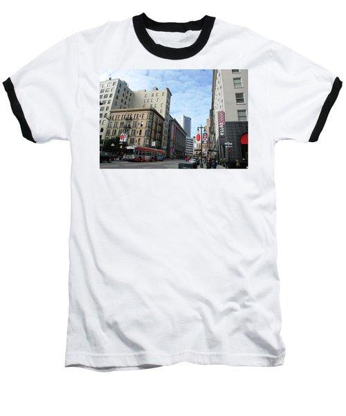 San Francisco - Jessie Street View Baseball T-Shirt
