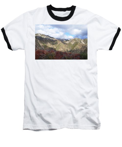 San Gabriel Mountains National Monument Baseball T-Shirt