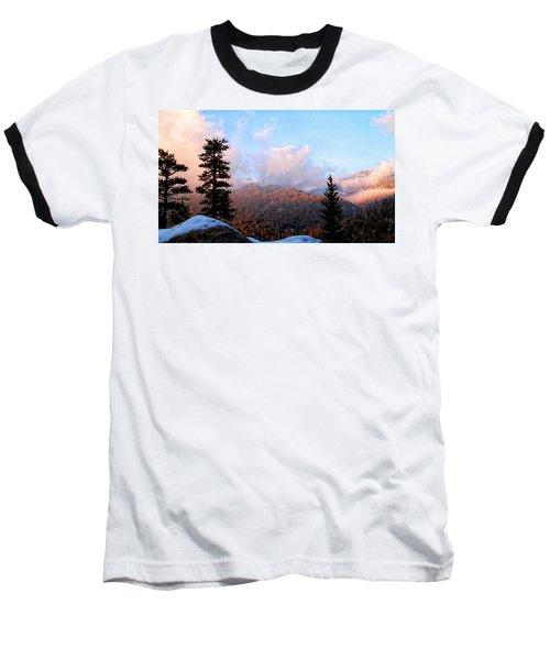 San Jacinto Mountains 2 - California Baseball T-Shirt