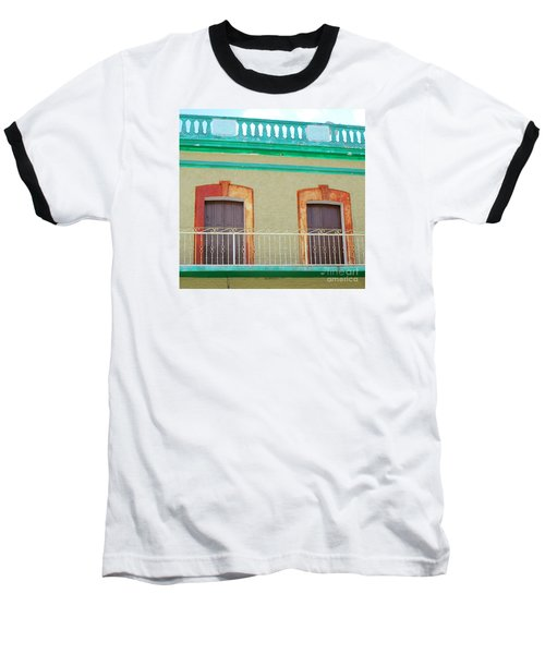 San Jose Del Cabo Doors 11 Baseball T-Shirt by Randall Weidner