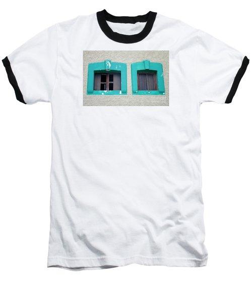 San Jose Del Cabo Windows 13 Baseball T-Shirt by Randall Weidner