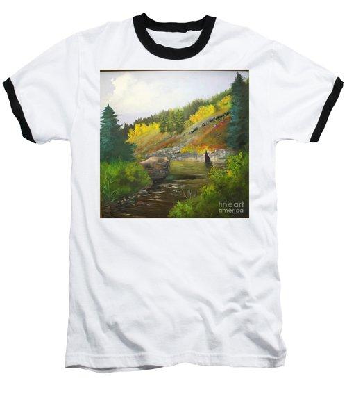Baseball T-Shirt featuring the painting San Juan River by Barbara Haviland