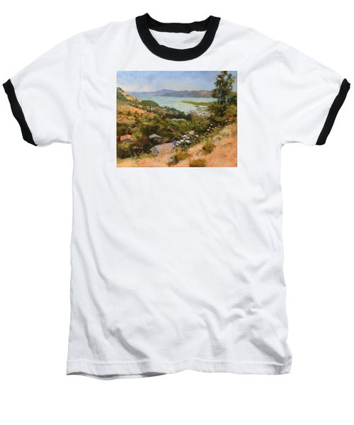San Rafael Bay From Via La Cumbre, Greenbrae, Ca Baseball T-Shirt