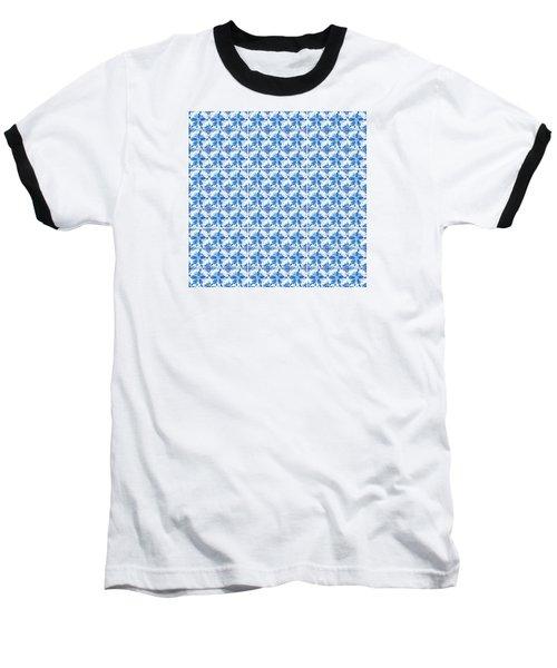 Sand Dollar Delight Pattern 1 Baseball T-Shirt
