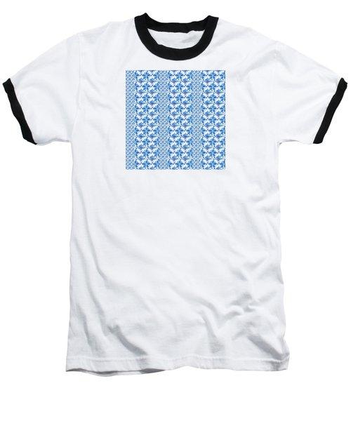 Sand Dollar Delight Pattern 2 Baseball T-Shirt