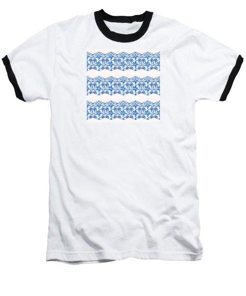 Sand Dollar Delight Pattern 4 Baseball T-Shirt