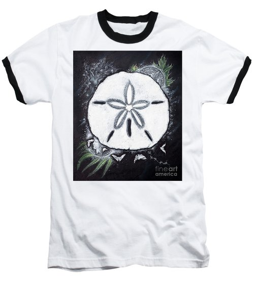 Sand Dollars Baseball T-Shirt by Scott and Dixie Wiley