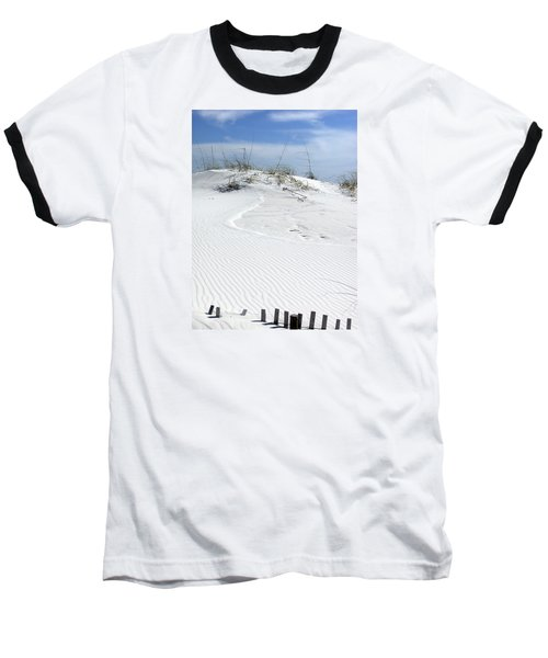 Baseball T-Shirt featuring the photograph Sand Dunes Dream 2 by Marie Hicks