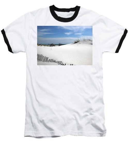 Sand Dunes Dream Baseball T-Shirt by Marie Hicks