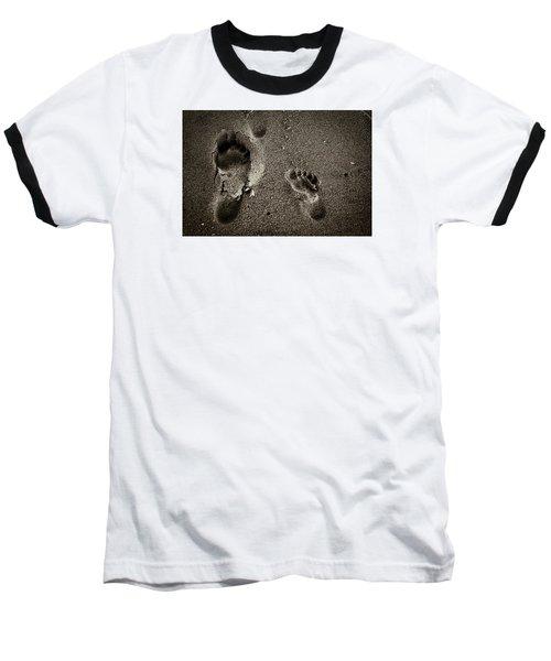 Sand Feet Baseball T-Shirt
