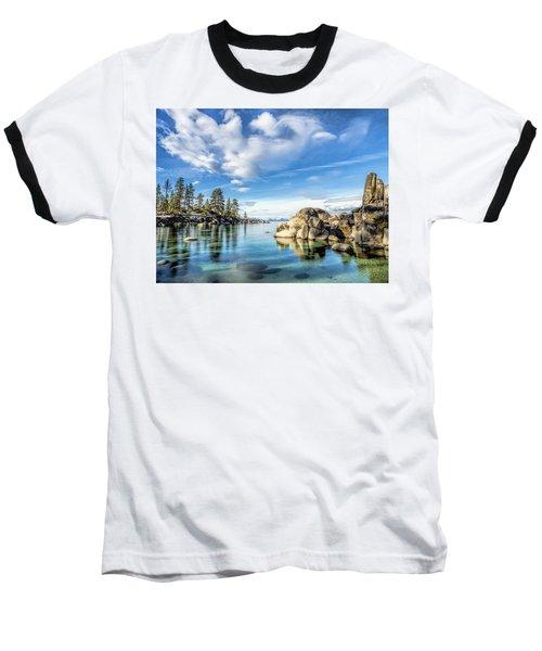 Sand Harbor Morning Baseball T-Shirt