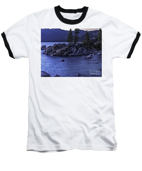 Baseball T-Shirt featuring the photograph Sand Harbor South by Nancy Marie Ricketts
