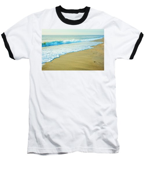 Sandy Hook Beach, New Jersey, Usa Baseball T-Shirt