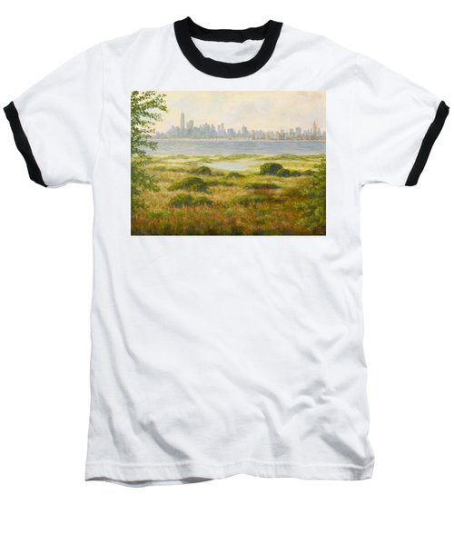 Sandy Hook View Baseball T-Shirt