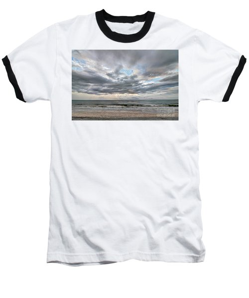 Sanibel Island Seashells Baseball T-Shirt