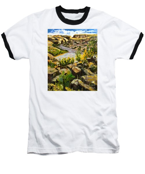 Santa Elena Canyon Baseball T-Shirt