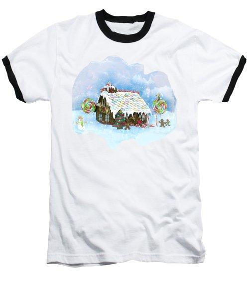 Santa Loves Cookies Baseball T-Shirt