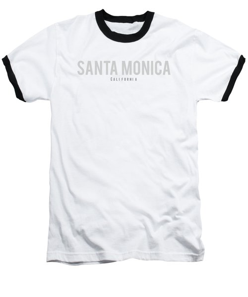 Santa Monica California Baseball T-Shirt