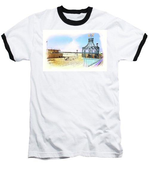 Santa Monica Pier Ver1  Baseball T-Shirt