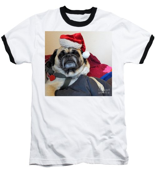 Santas Helper Baseball T-Shirt