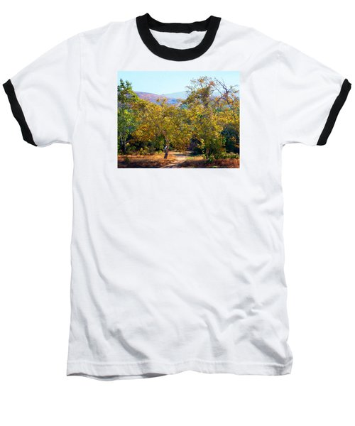 Santiago Creek Trail Baseball T-Shirt
