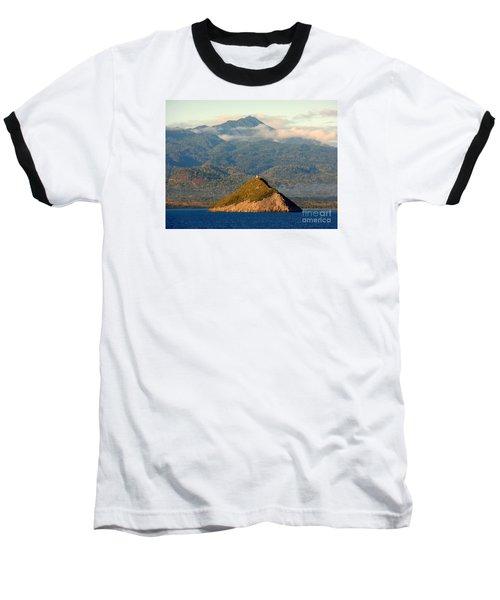 Sao Tome Africa Harbor Baseball T-Shirt