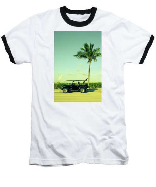 Baseball T-Shirt featuring the photograph Saturday by Laura Fasulo
