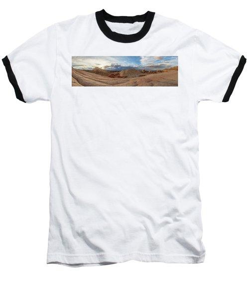 Savor The Solitude Baseball T-Shirt by Dustin LeFevre