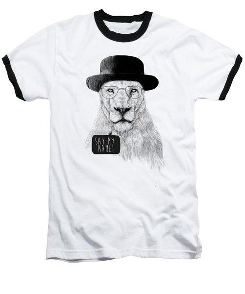 Say My Name Baseball T-Shirt