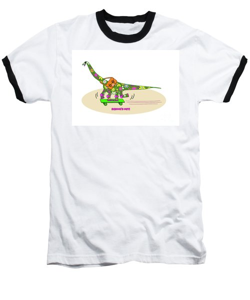 Schools Out For Dinosaurs Baseball T-Shirt