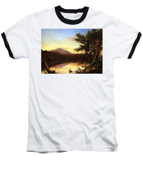 Schroon Lake 1840 Baseball T-Shirt