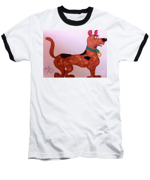 Scooby-doo Baseball T-Shirt