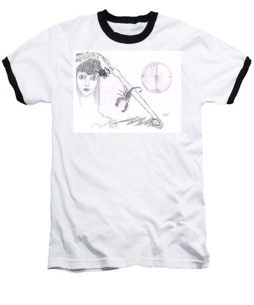 Scorpion Pen Baseball T-Shirt