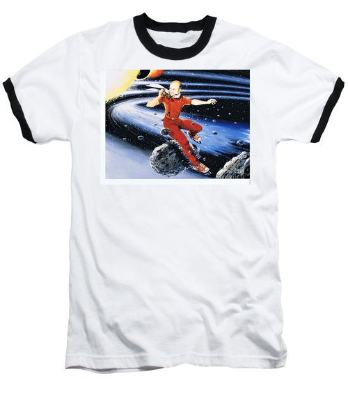 Scott Hamilton Skates The Stars Baseball T-Shirt