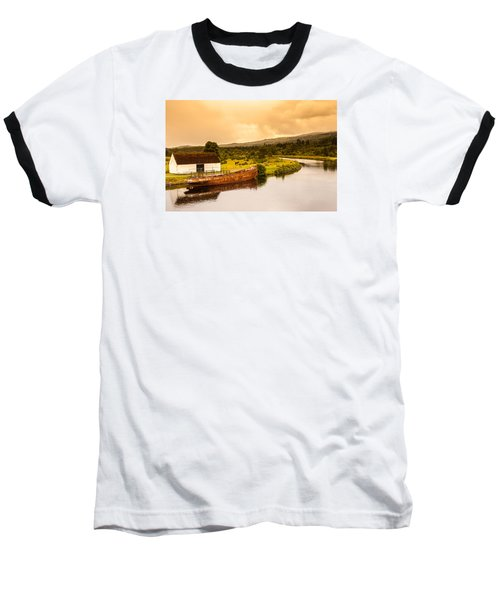 Scottish Loch 2 Baseball T-Shirt