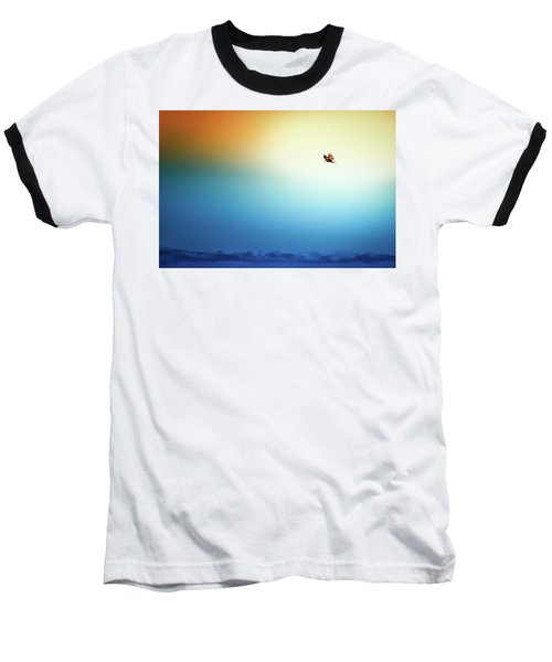 Sea Eagle On High Baseball T-Shirt