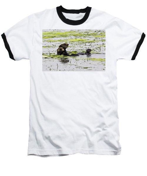 Sea Otters 1 Baseball T-Shirt