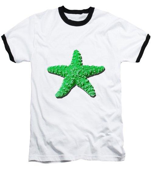 Sea Star Green .png Baseball T-Shirt