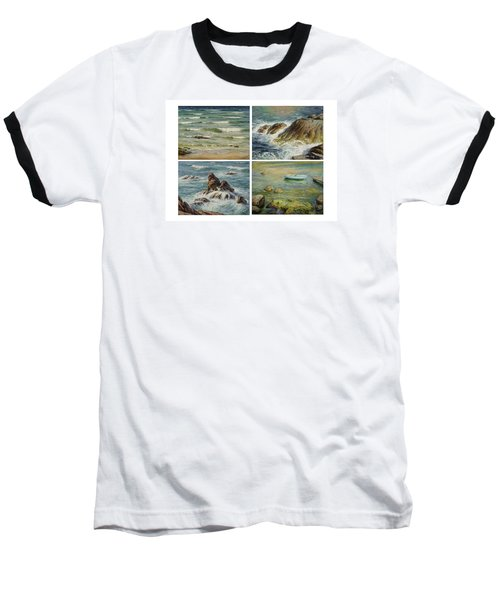 Sea Symphony. Part 1,2,3,4. Baseball T-Shirt
