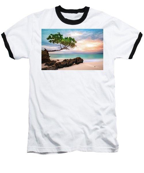 Seagrape Tree Baseball T-Shirt