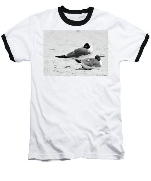 Seagull Nap Time Baseball T-Shirt