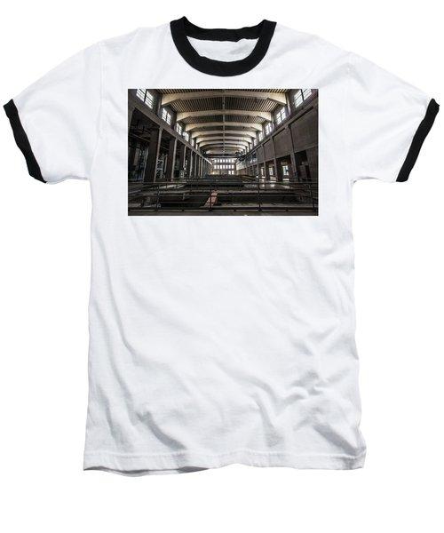 Seaholm Power Plant Baseball T-Shirt