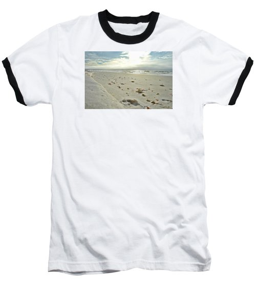 Seashells On The Seashore Baseball T-Shirt