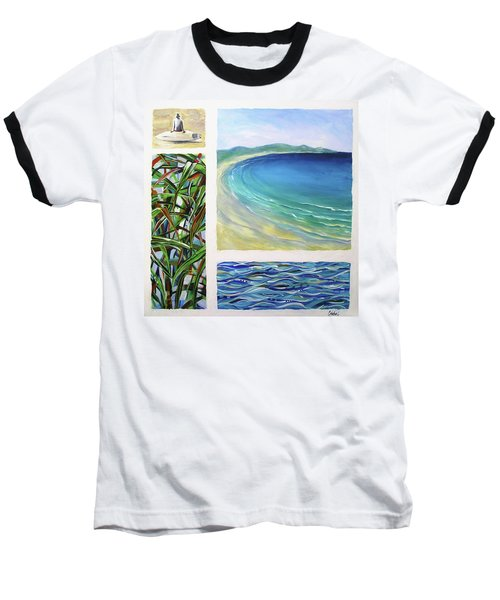 Seaside Memories Baseball T-Shirt